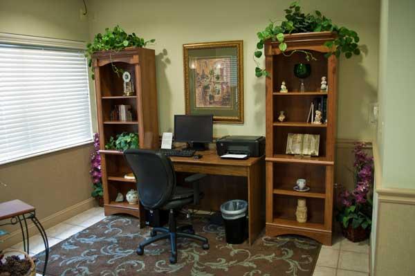 Lobby Computer Desk