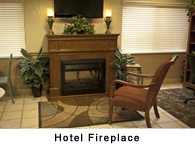 Hotel Fireplace