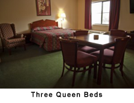 Three Queen Beds